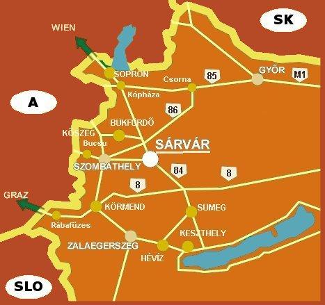 magyarország térkép sárvár Pallósi Ház   Sárvár, Haus Pallósi   Sarvar ::.. magyarország térkép sárvár